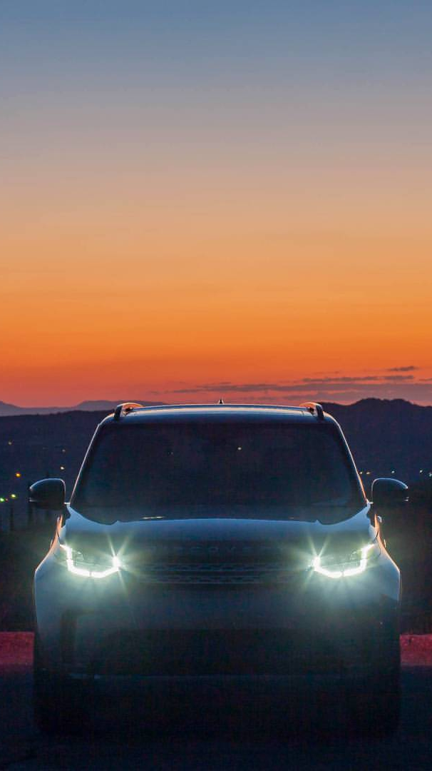 Land Rover Discovery Sport Lights iPhone Wallpaper iphoneswallpapers com
