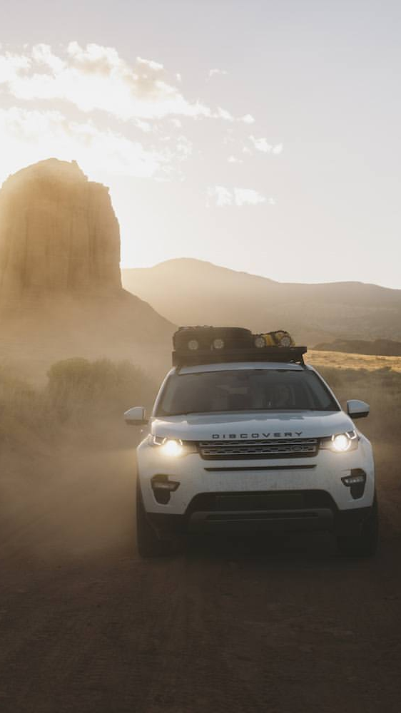 Land Rover Discovery Sport Offroad iPhone Wallpaper iphoneswallpapers com