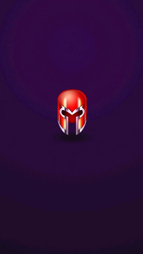 Magneto Helmet IPhone Wallpaper