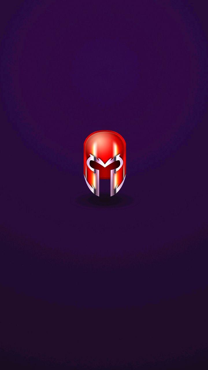 Magneto Helmet iPhone Wallpaper iphoneswallpapers com