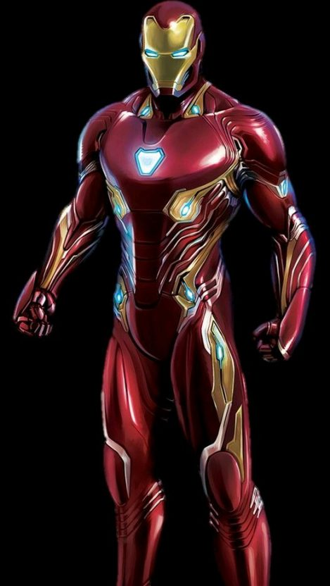 Mark 48 Iron Man Suit Avengers Infinity War IPhone Wallpaper