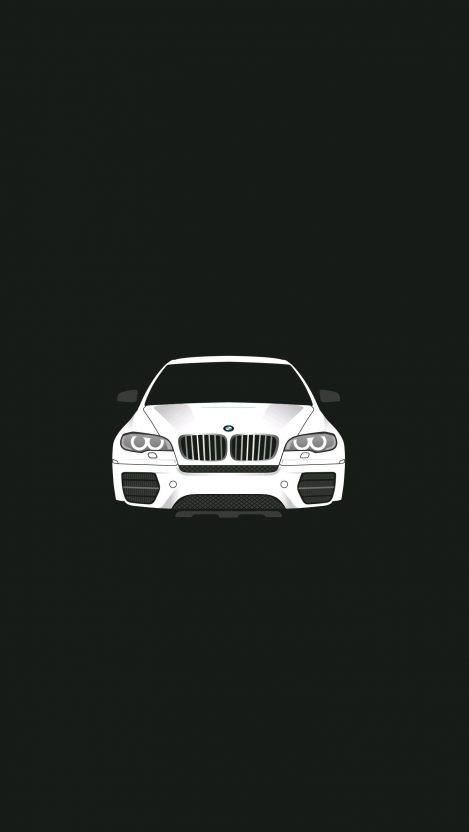 Minimal BMW Car IPhone Wallpaper