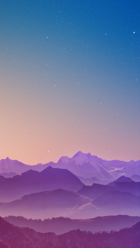 Mountains Sky Sunrise iPhone Wallpaper iphoneswallpapers com