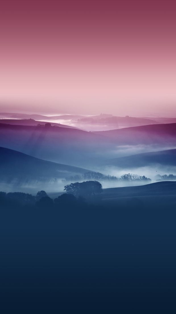 Mountains View Sky Nature iPhone Wallpaper iphoneswallpapers com