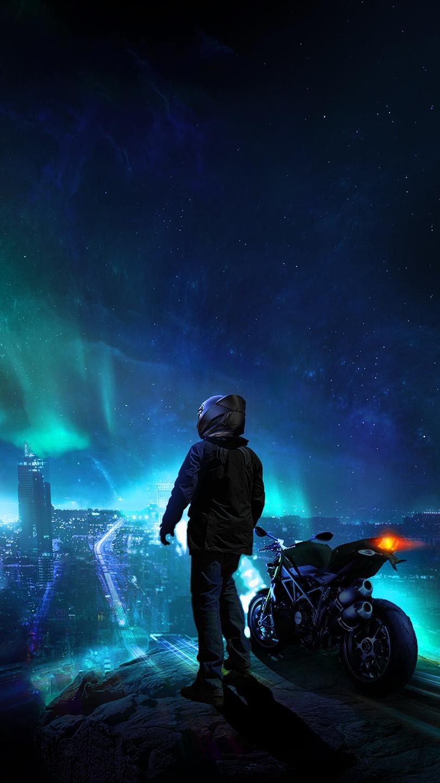 Night rider iPhone Wallpaper iphoneswallpapers com