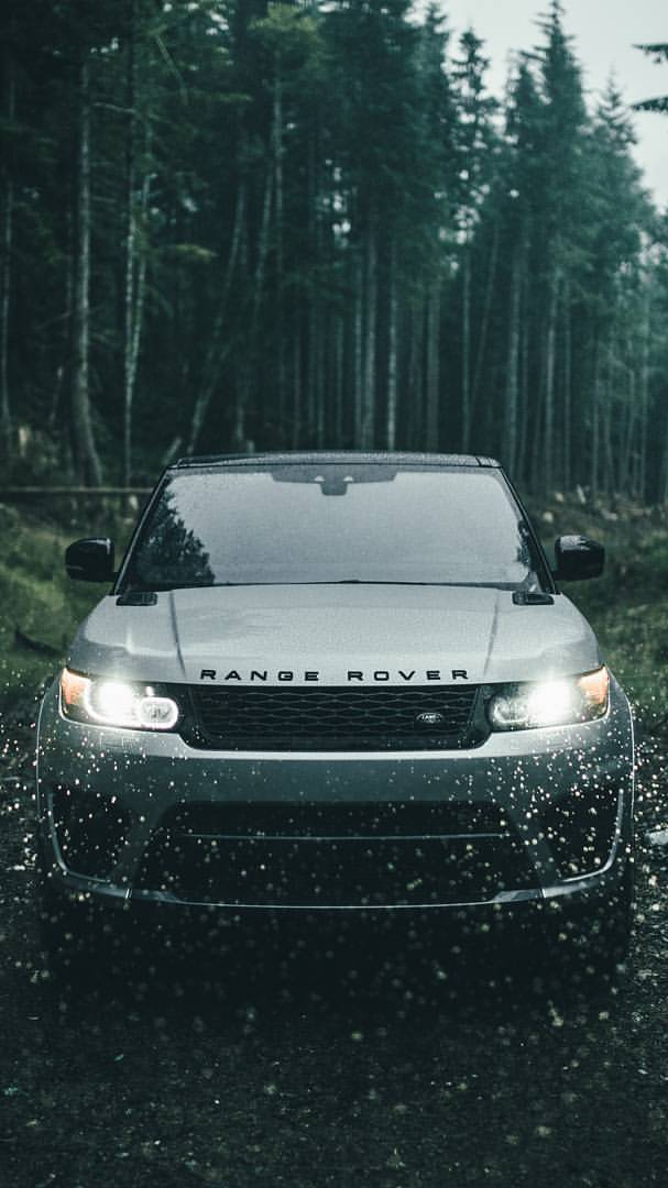 Range Rover Sport Lights iPhone Wallpaper iphoneswallpapers com