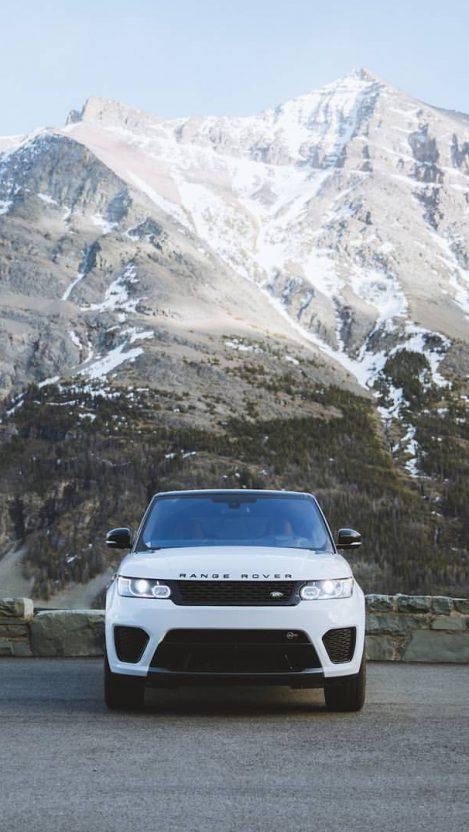 Range Rover Sport White IPhone Wallpaper