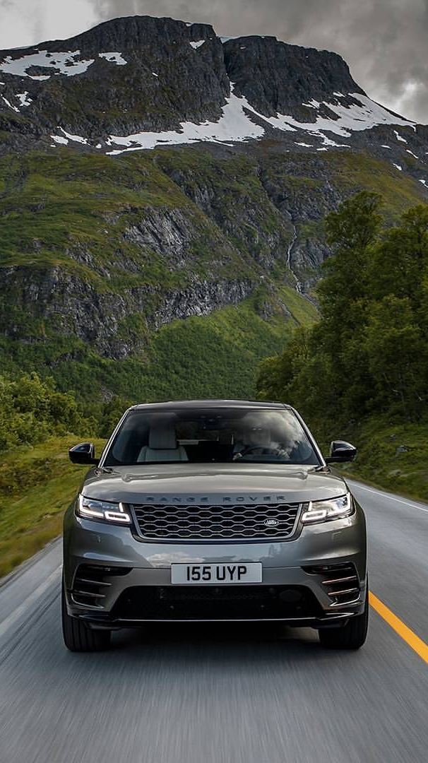 Range Rover Velar in Mountains iPhone Wallpaper iphoneswallpapers com