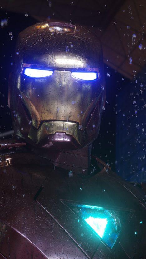The Iron Man iPhone Wallpaper iphoneswallpapers com