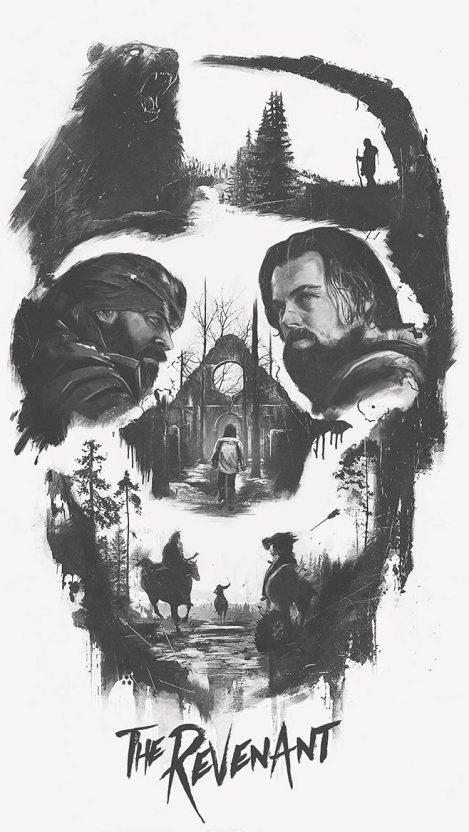 The Revenant Movie Art iPhone Wallpaper iphoneswallpapers com