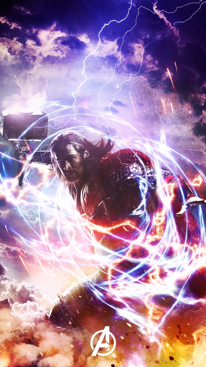 Thor Avengers iPhone Wallpaper iphoneswallpapers com
