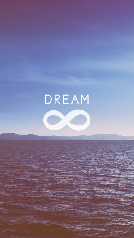 Infinity Symbol Dream Iphone Wallpaper Iphone Wallpapers