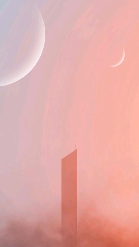 sci fi skyscrapers 4k HD 1 iPhone Wallpaper iphoneswallpapers com