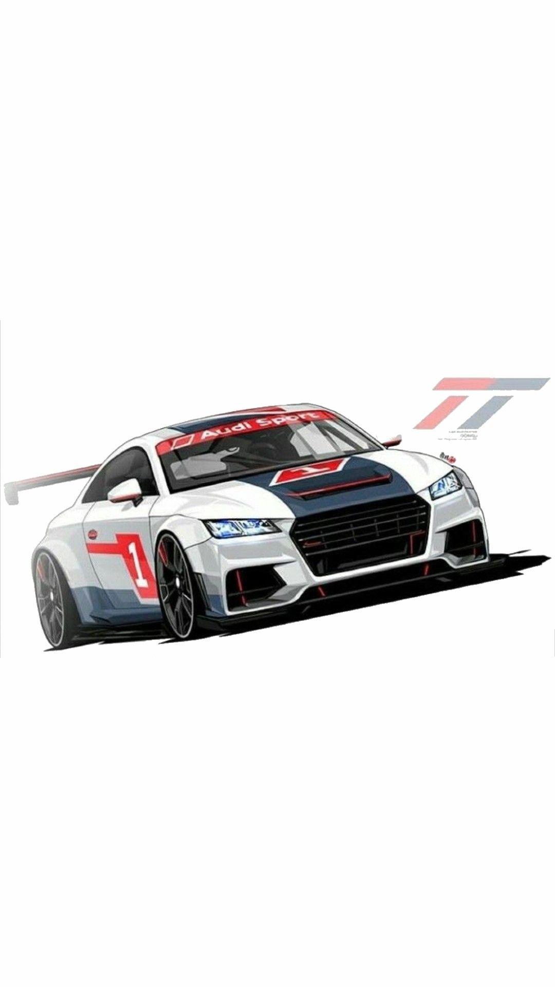 Audi R8 TT Race Car iPhone Wallpaper iphoneswallpapers com