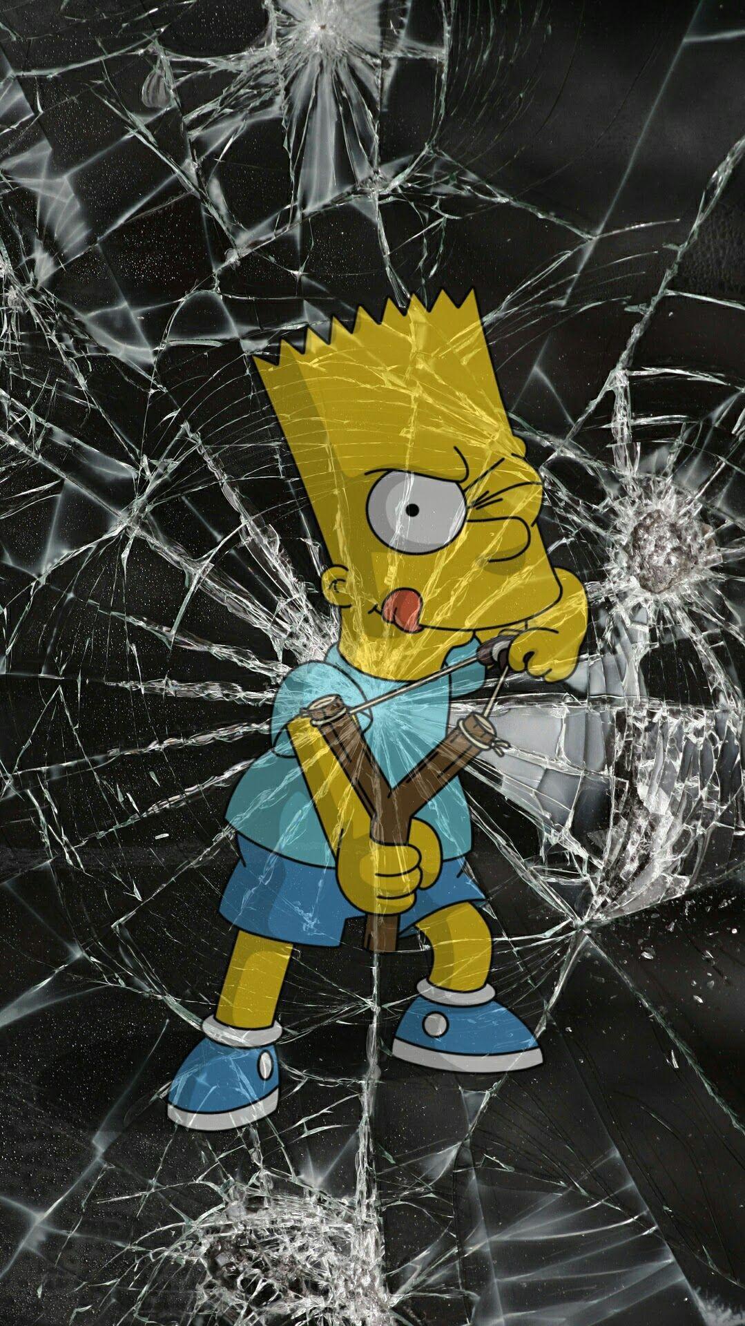 Bart Simpson iPhone Wallpaper iphoneswallpapers com
