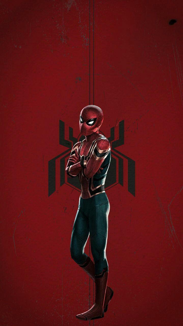 Iron Spider Suit Avengers iPhone Wallpaper iphoneswallpapers com