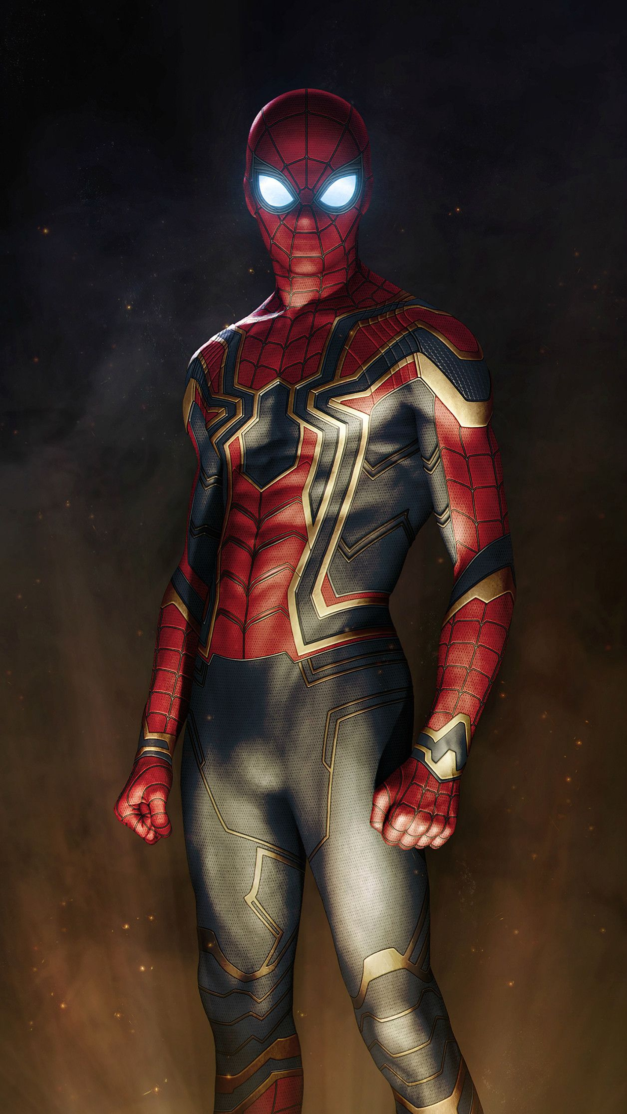 Iron spiderman suit avengers iphone wallpaper iphone - Iron man spiderman wallpaper ...