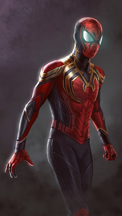 Iron spiderman iphone wallpaper iphone wallpapers - Iron man spiderman wallpaper ...