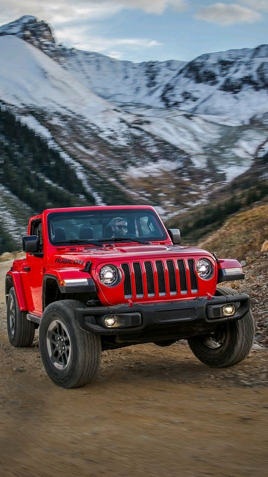 Jeep Wrangler 2018 Hill Climb iPhone Wallpaper iphoneswallpapers com