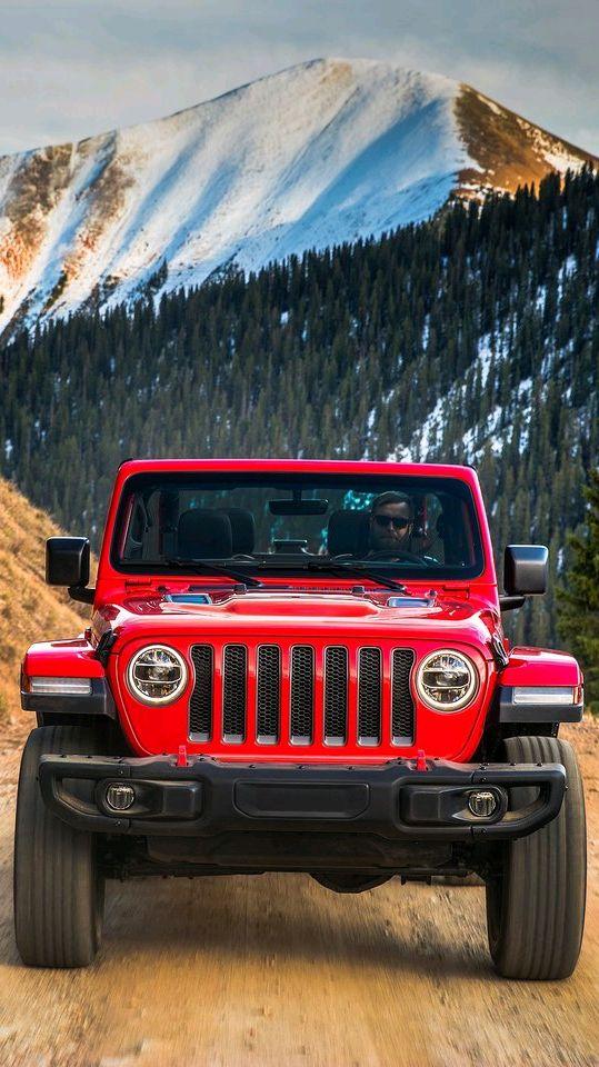 Jeep Wrangler Red Offroad iPhone Wallpaper iphoneswallpapers com
