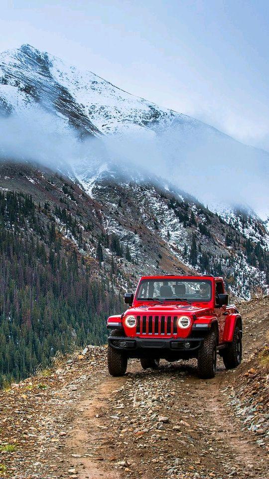 Jeep Wrangler Trail Run Mountains iPhone Wallpaper iphoneswallpapers com