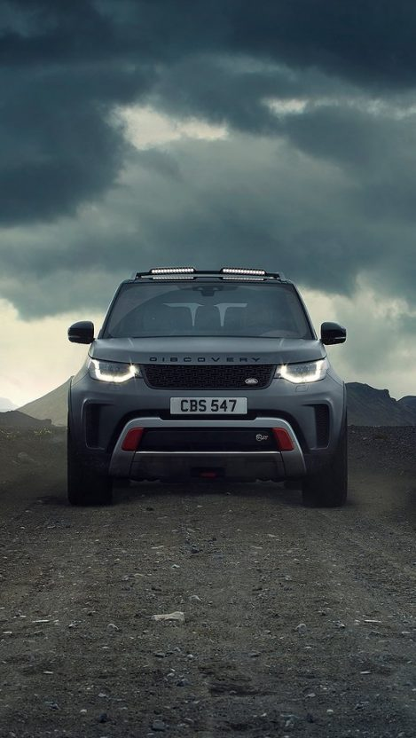 Land Rover Discovery SVX iPhone Wallpaper iphoneswallpapers com