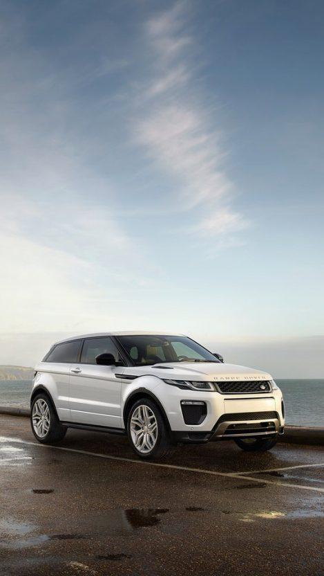 Land Rover Range Rover Evoque White iPhone Wallpaper iphoneswallpapers com