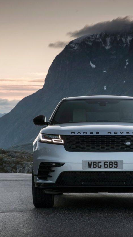 Land Rover Range Rover Velar Front iPhone Wallpaper iphoneswallpapers com