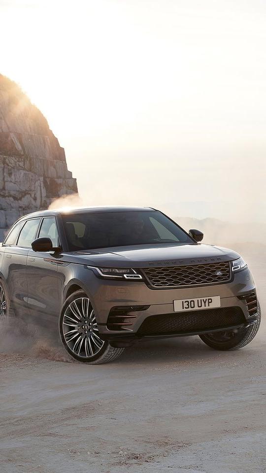 Land Rover Range Rover Velar in Sand iPhone Wallpaper iphoneswallpapers com