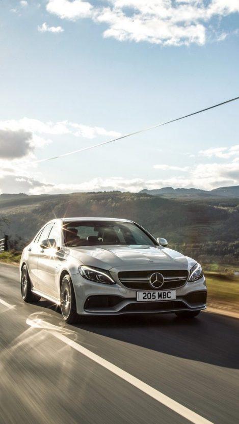 Mercedes Benz C63 AMG iPhone Wallpaper iphoneswallpapers com