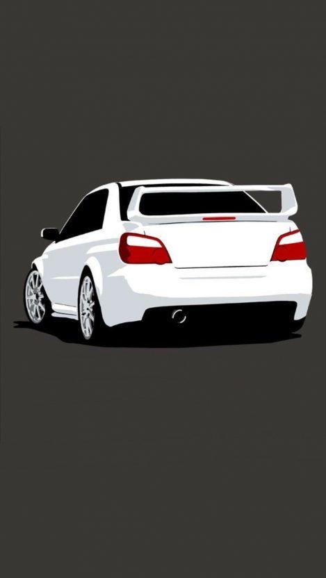 Minimal Car iPhone Wallpaper iphoneswallpapers com