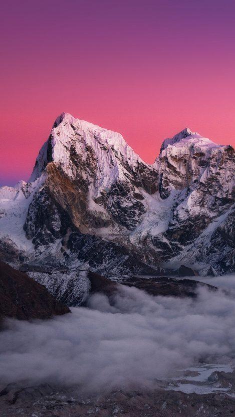 Red Mountains iPhoneX Wallpaper iphoneswallpapers com