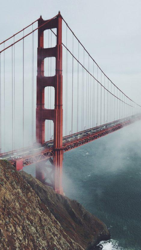 San Francisco Golden Gate Bridge iPhone Wallpaper iphoneswallpapers com