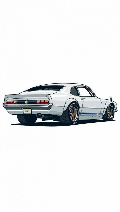 Shelby Mustang Art iPhone Wallpaper iphoneswallpapers com