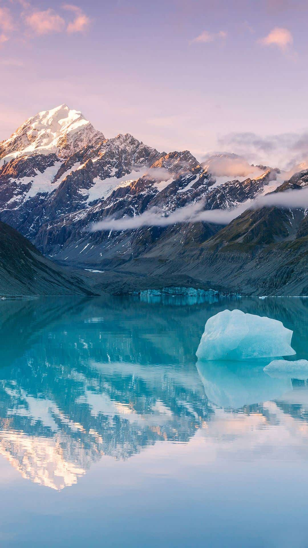 Snow Mountains Glaciers Nature iPhone Wallpaper iphoneswallpapers com