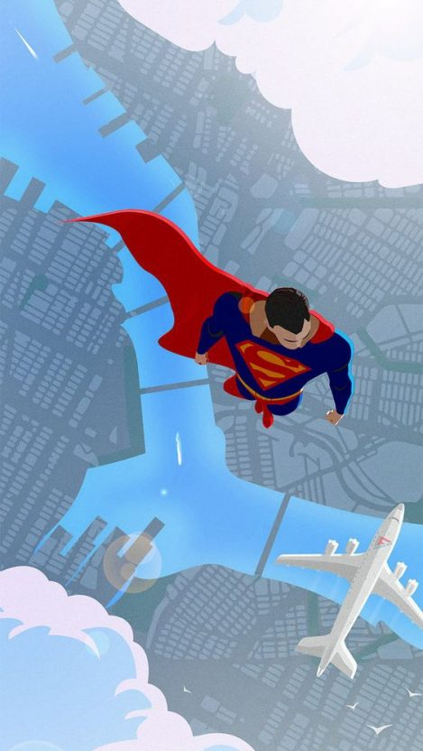 Superman iPhone Wallpaper iphoneswallpapers com