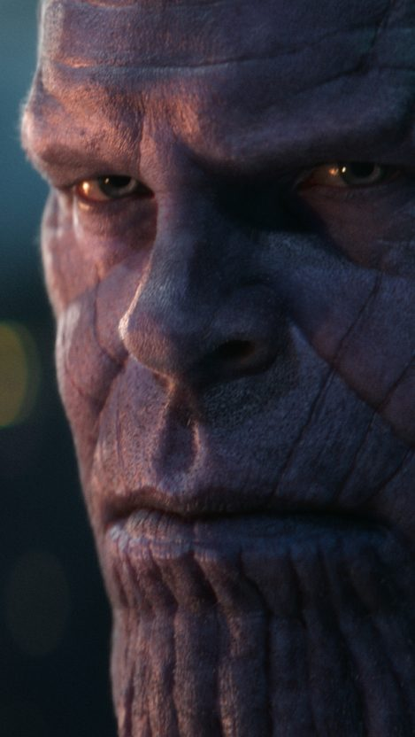 Thanos Face Avengers iPhone Wallpaper iphoneswallpapers com