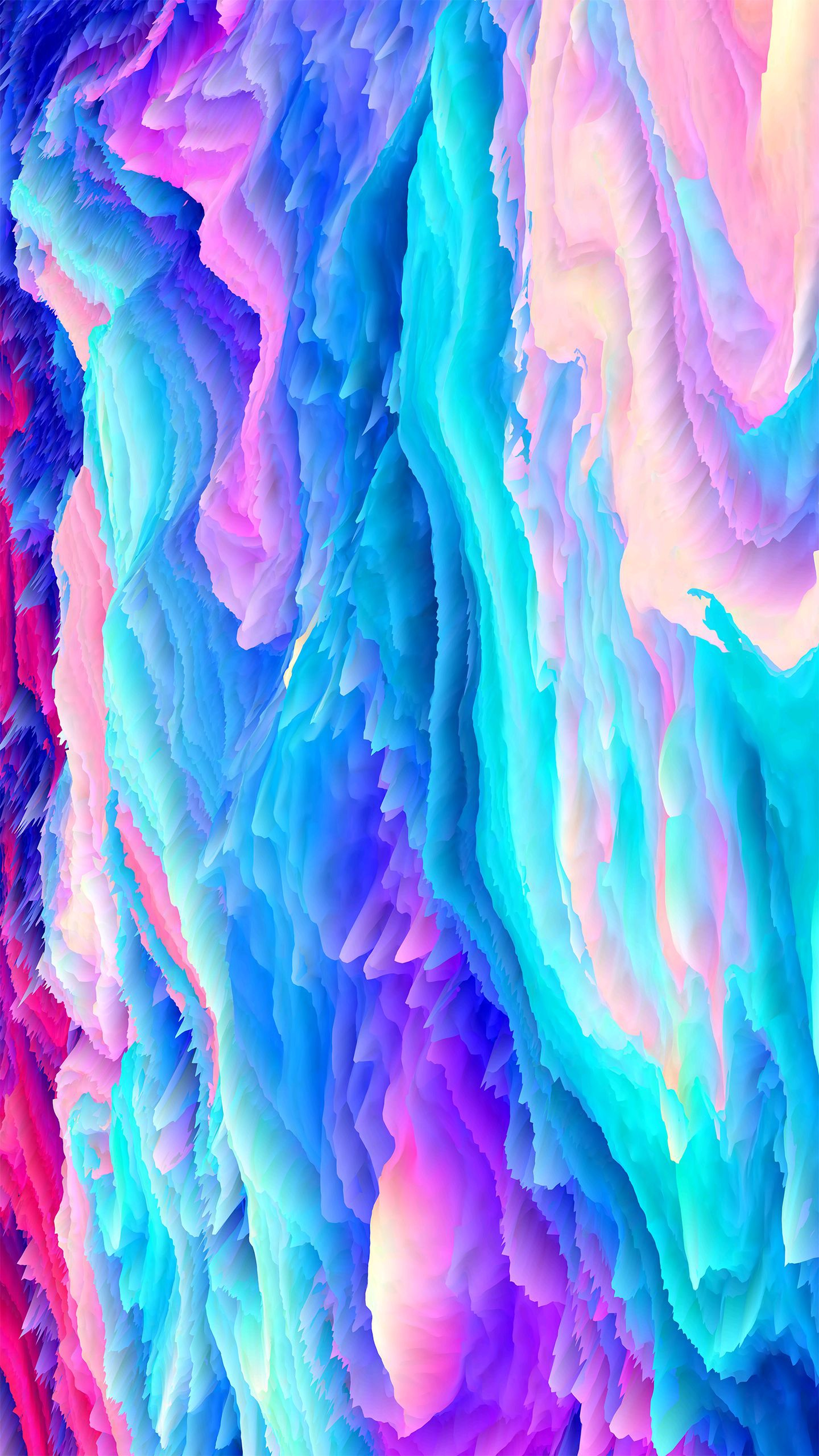 Artistic Colors iPhone Wallpaper