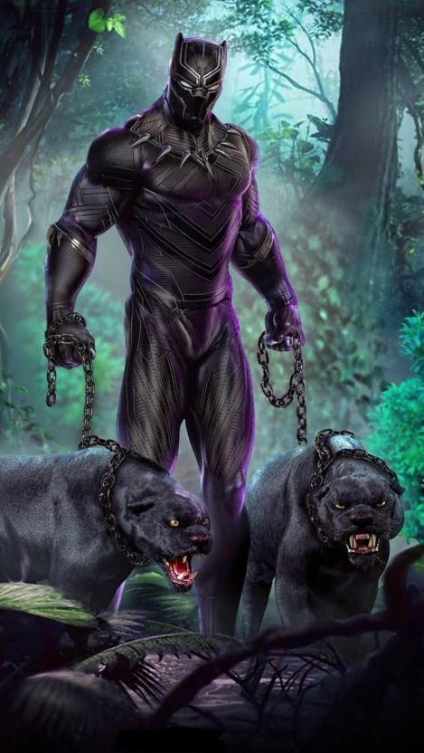 Black Panther Erik Killmonger Iphone Wallpaper Iphone