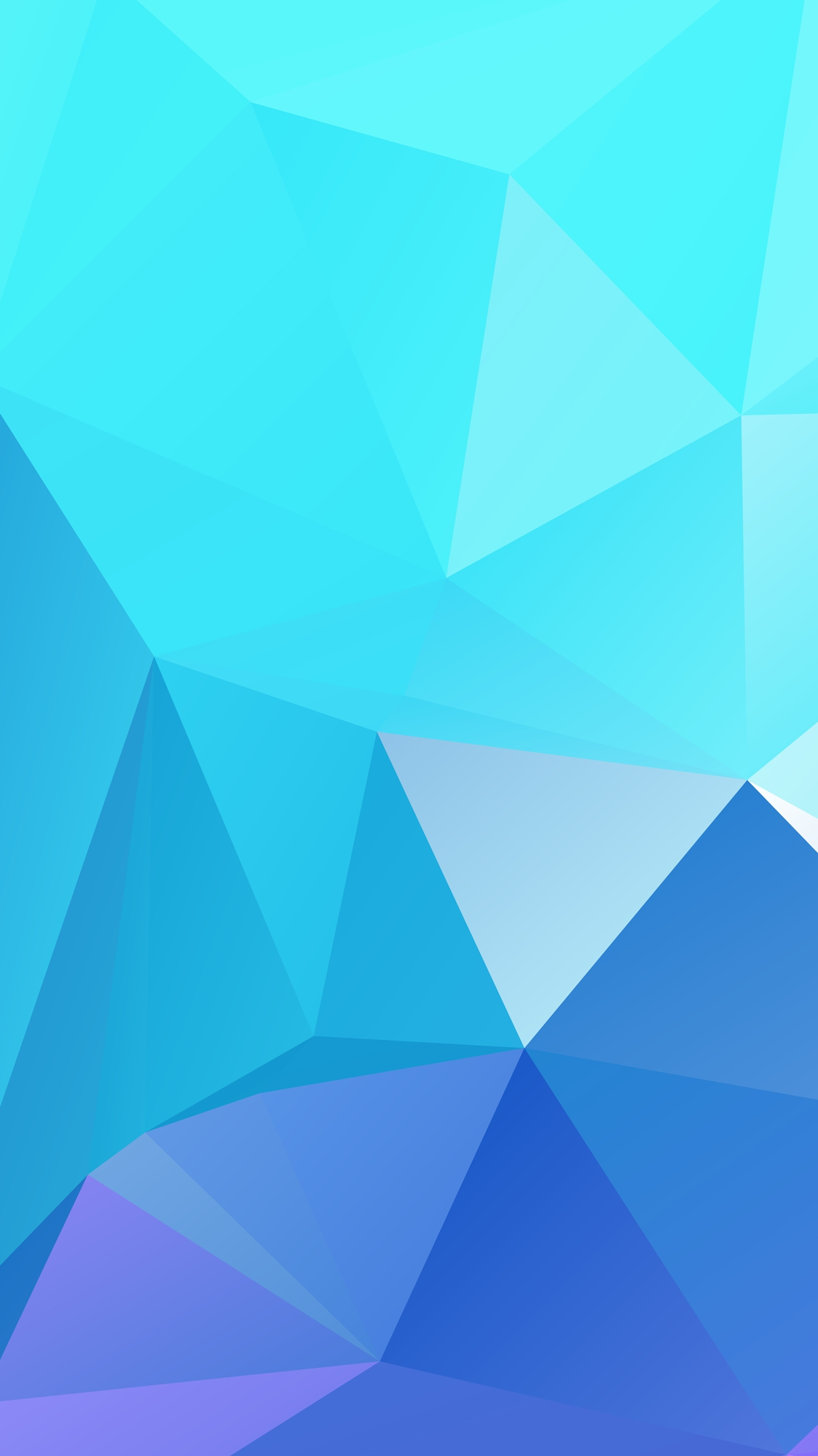 Blue low poly texture iPhone Wallpaper