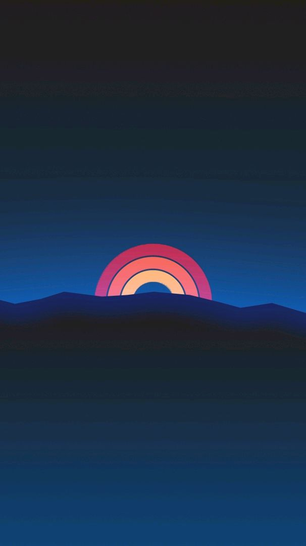Digital Sunrise Gradient iPhone Wallpaper iphoneswallpapers com