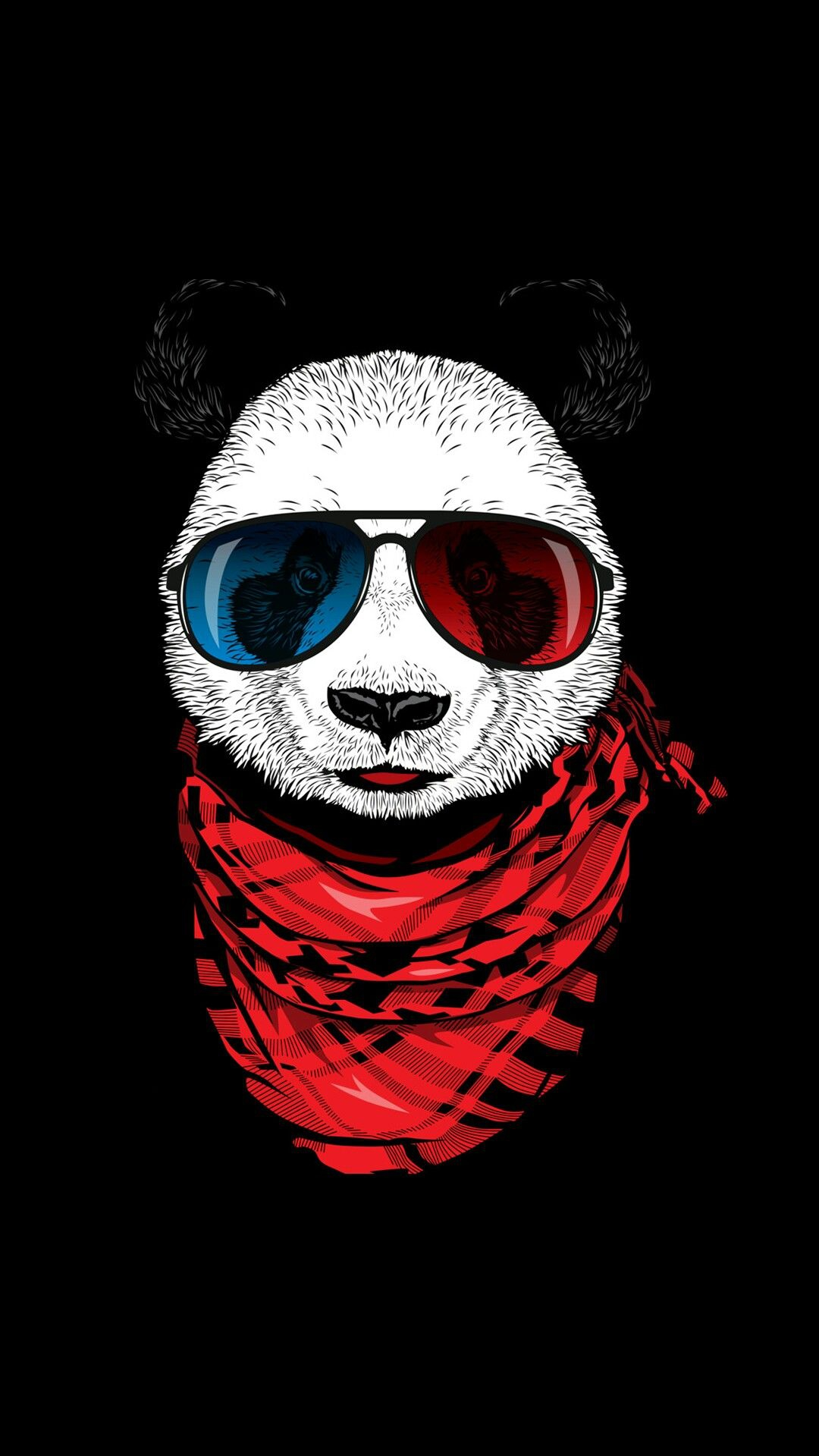 Fashion Panda iPhone Wallpaper iphoneswallpapers com