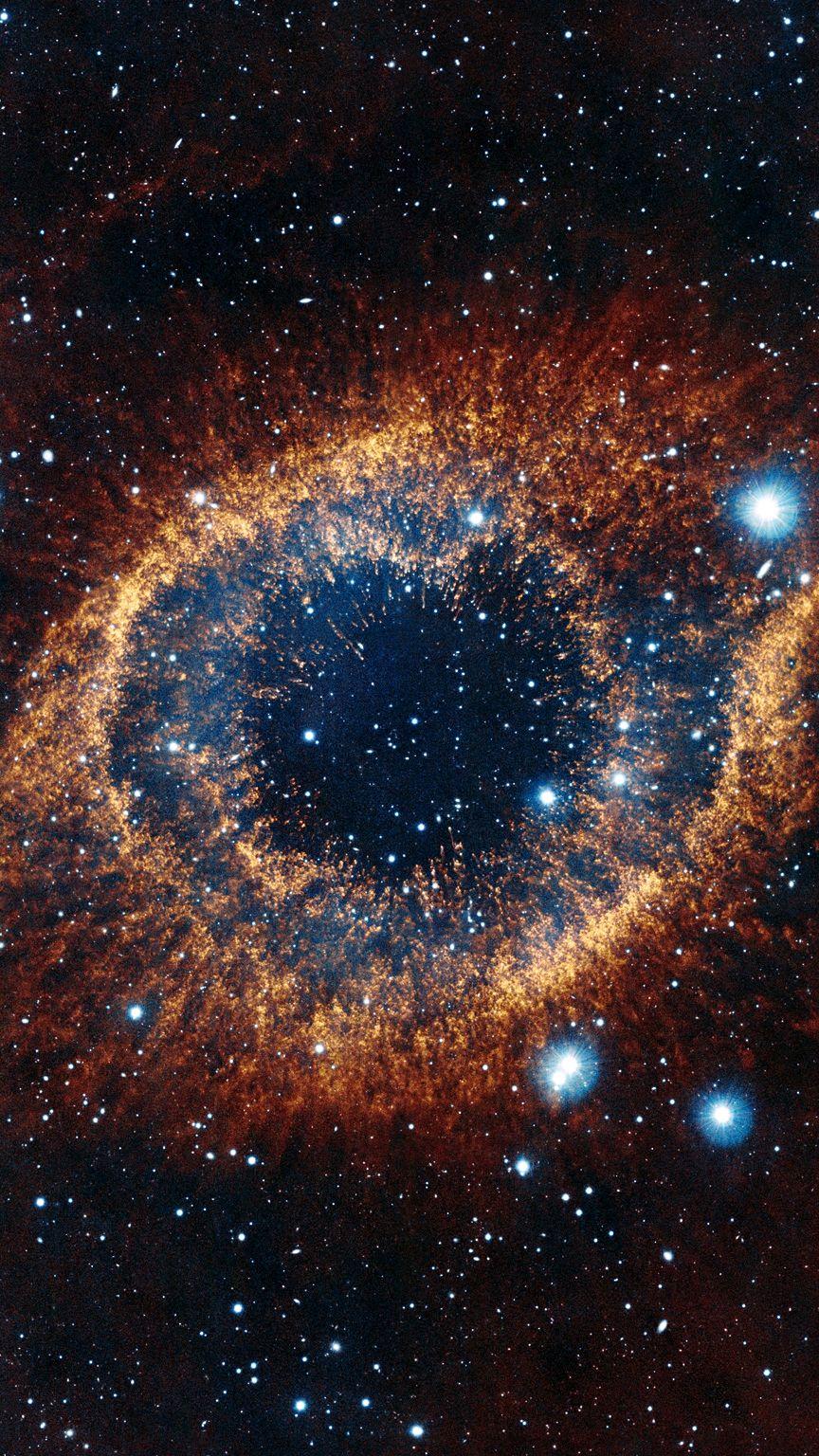 Helix nebula eye of god iPhone Wallpaper iphoneswallpapers com