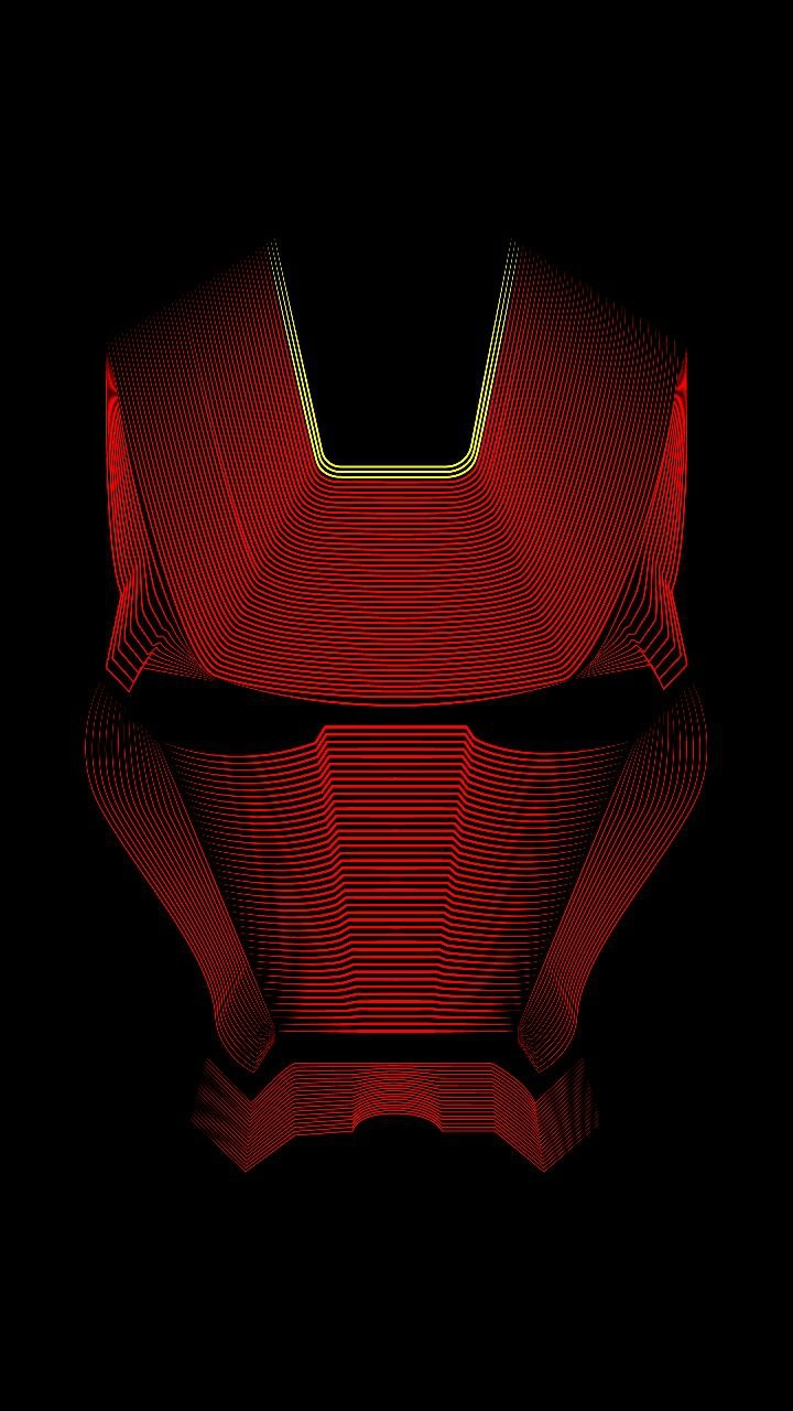 Iron Man Red Armour Suit Face iPhone Wallpaper iphoneswallpapers com