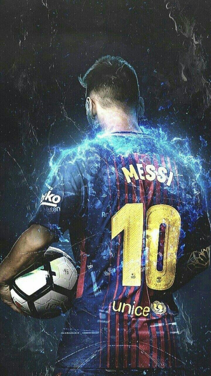 Lionel Messi Football Jersey iPhone Wallpaper iphoneswallpapers com