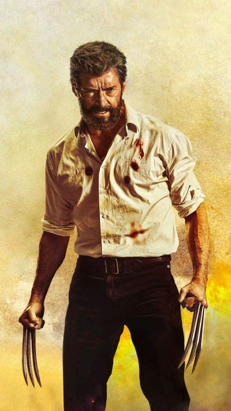 Logan Angry iPhone Wallpaper iphoneswallpapers com