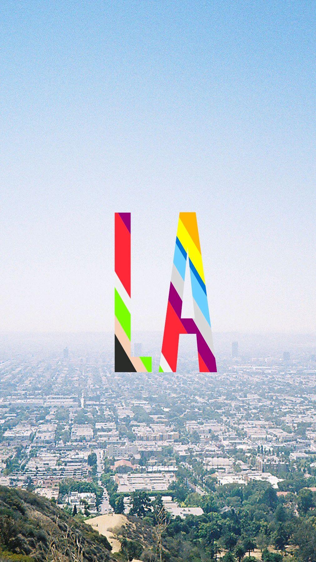 Los Angeles City View iPhone Wallpaper iphoneswallpapers com