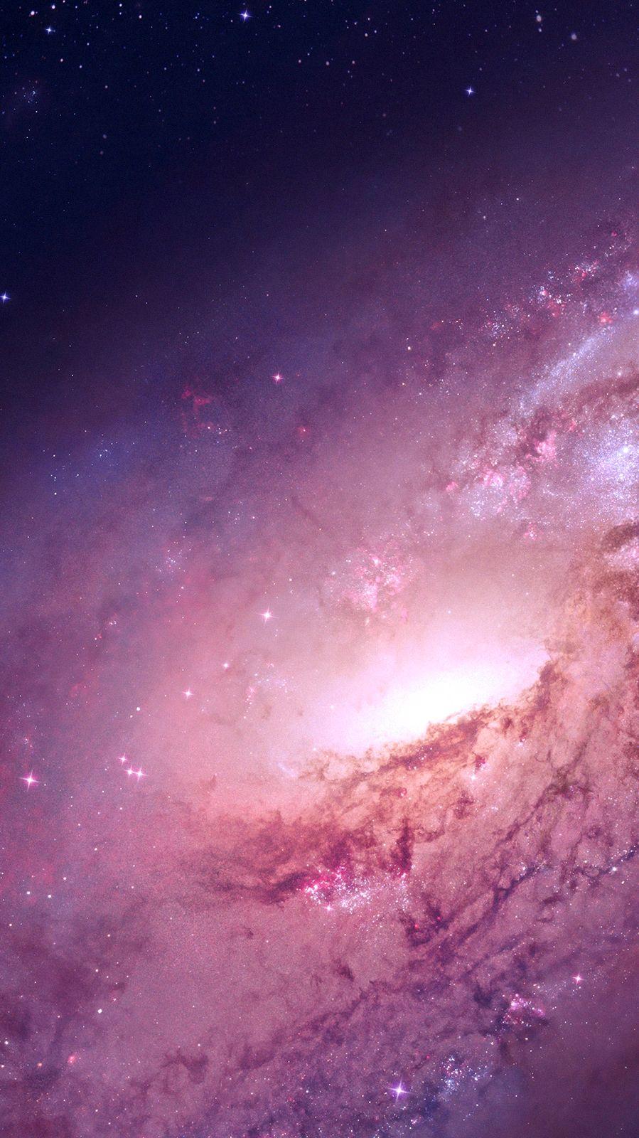 Milky Way Galaxy Nebula iPhone Wallpaper iphoneswallpapers com