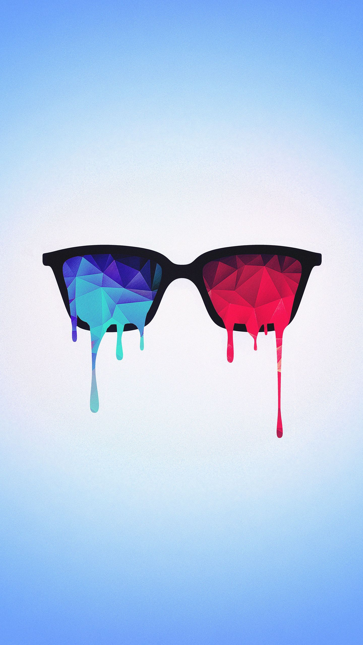 Nerd Glasses Art iPhone Wallpaper iphoneswallpapers com