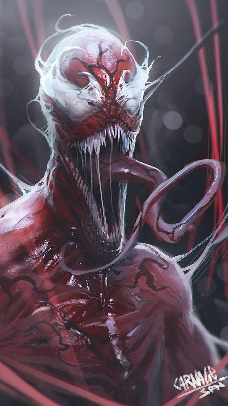 Venom iPhone Wallpaper iphoneswallpapers com